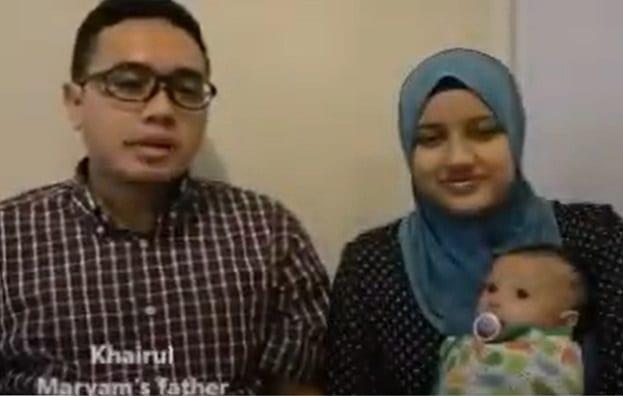 Khairul和Alia